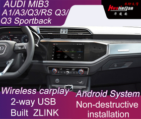 Multimedia Video Interface Box for Audi MIB Q3 RS Q3 Android Gps Navigtion Dual USB Original Bluetooth And Android Bluetooth