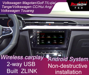 Android Multimedia Video Interface Adapter for Volkswagen Touareg BT Transmitter 4G Wifi Music Video Navigation