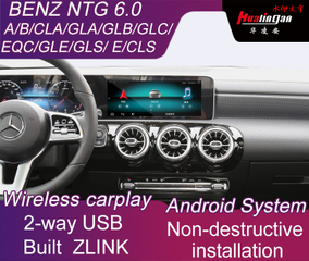 Car Android Video Interface for Mercedes-Benz GLE GLS E CLS with NTG 6.0 Multimedia System Wireless CarPlay