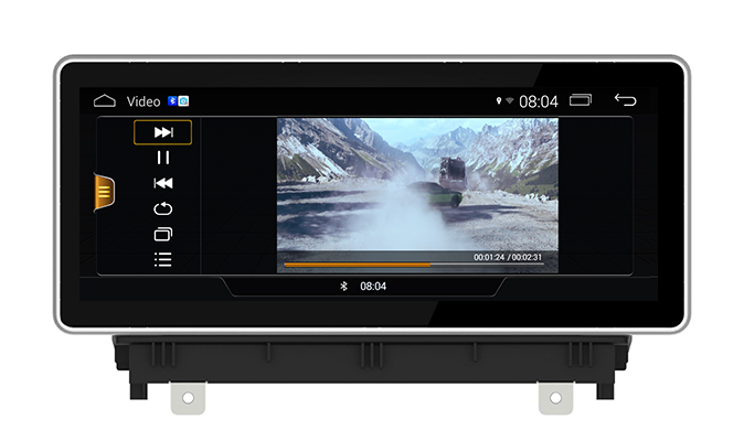 "10.25""Blu-ray Anti-glare Audi A3 MMI 2G Car Stereo Multimedia Android Screen Mirroring AHD Camera Aux"