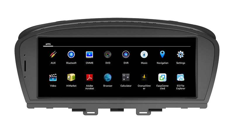Hualingan For BMW 7 series,CCC with AUX, 8.8 inch Android car multimedia system MTK Core 4G internet 64G storage WIFI Carplay