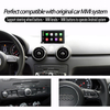 Carplay Car Dvd Player Audi A1 MMI 2G 3G Anti-Glare Android Navigation Gps Android Wifi Connection 4G